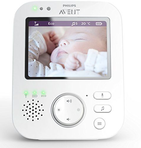 philips avent scd630 26 video babyphone 3 5 zoll. Black Bedroom Furniture Sets. Home Design Ideas